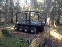 argo in bush Pacifc Highway upgrade project NSW